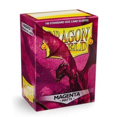 Dragon Shield: Matte - Magenta