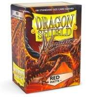 Dragon Shield: Matte - Red