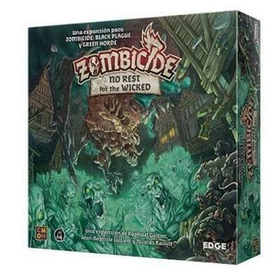 Zombicide: No Rest for the Wicked - Expansão