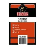 Sleeves: Bucaneiros - USA Chimera - 57x89 mm