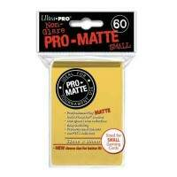 Sleeves: Ultra Pro - Small Pro MATTE - Amarelo - 62x89mm