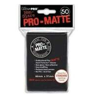 Sleeves: Ultra Pro - Standart Pro MATTE - Preto - 66x91mm