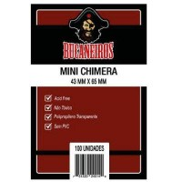 Sleeves: Bucaneiros - Mini Chimera -  43x65 mm