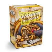 Dragon Shield: Matte - Dourado
