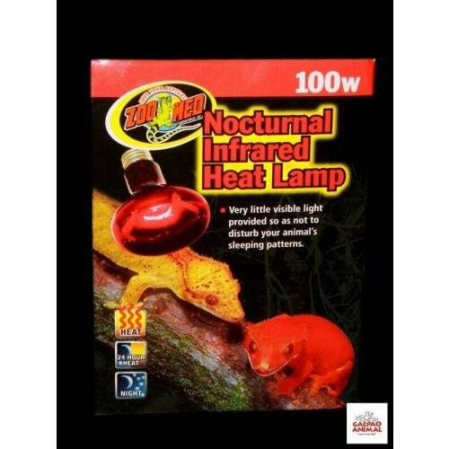 Zoo Med_Nocturnal Infrared Heat Lamp 100w