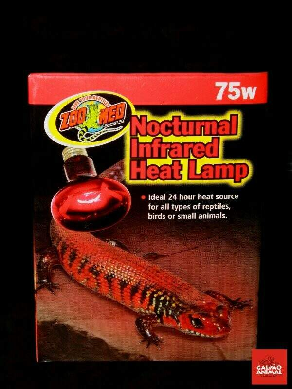 Zoo Med_Nocturnal Infrared Heat Lamp 75w