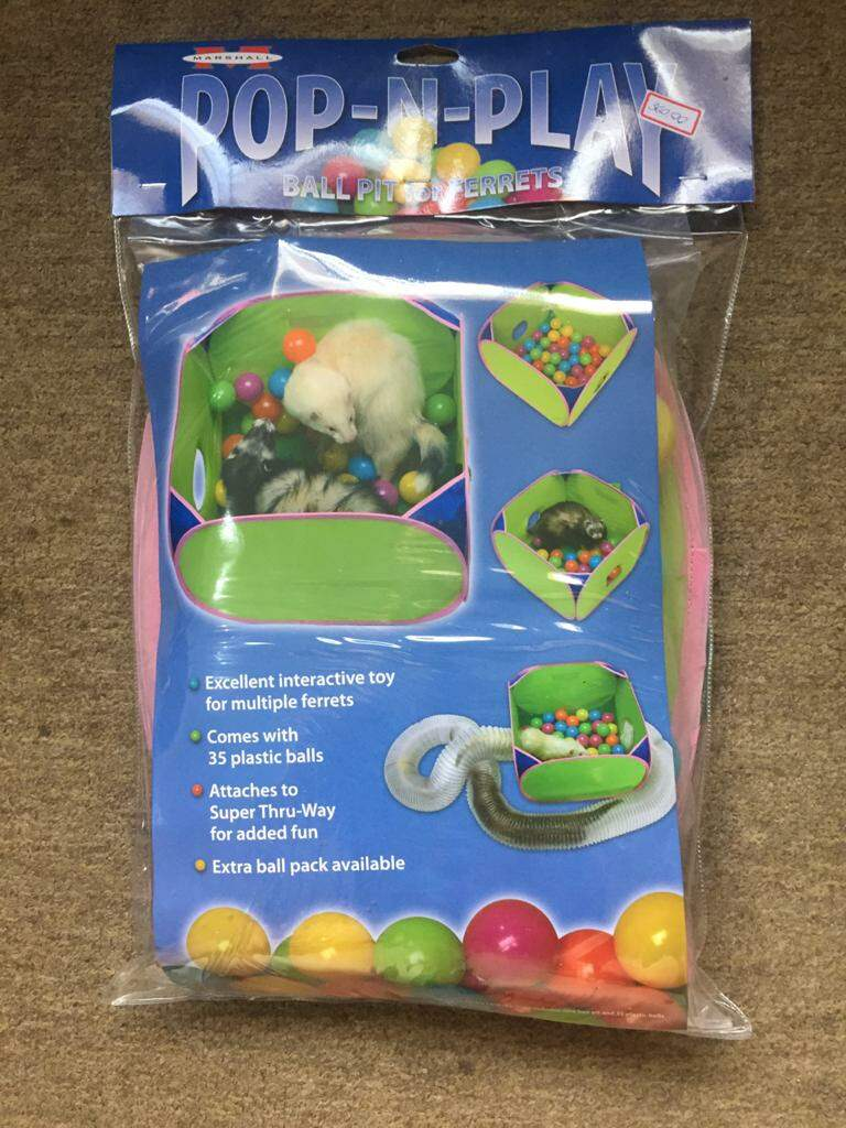 PoP - N - Play - Ball Pit for Ferrets