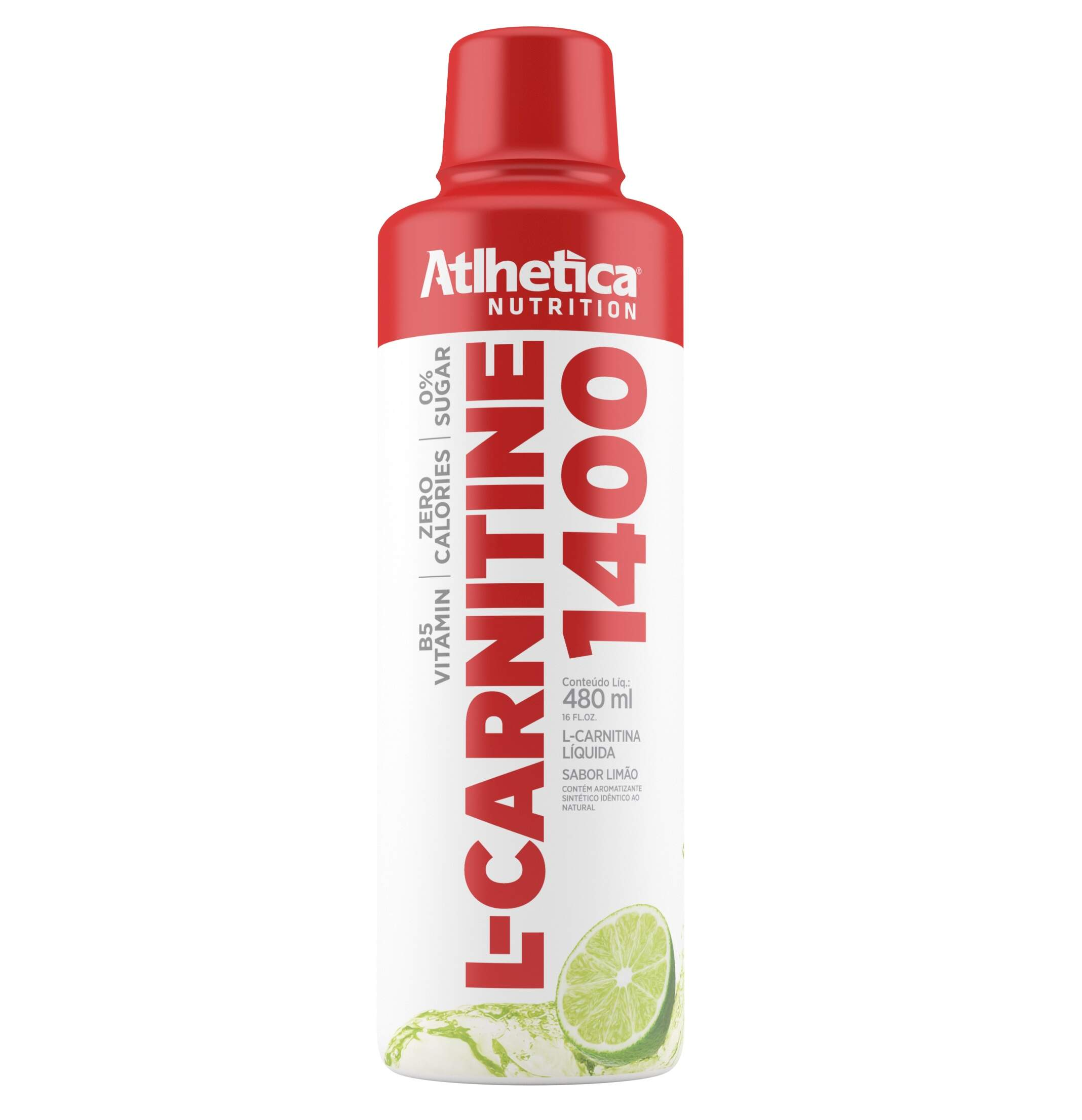 L-Carnitina 1400 480ml - Atlhetica Nutrition