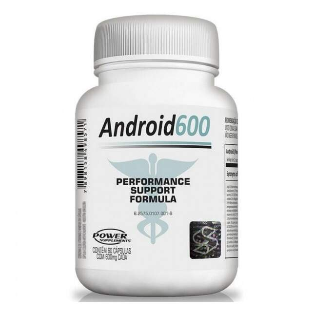 Android 600mg 60 Caps - Power Supplements
