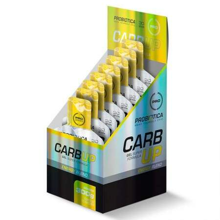 Carb Up Gel (Display 10 Sachês de 30g) - Probiótica