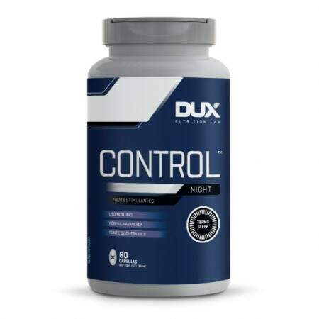 Control Night 60 Caps - Dux Nutrition