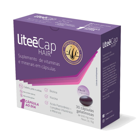 LiteeCap Hair 30 Caps - Litee