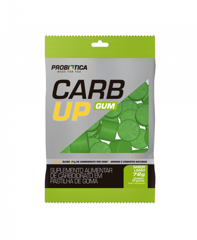 Carb Up Gum Display 10 Und - Probiótica