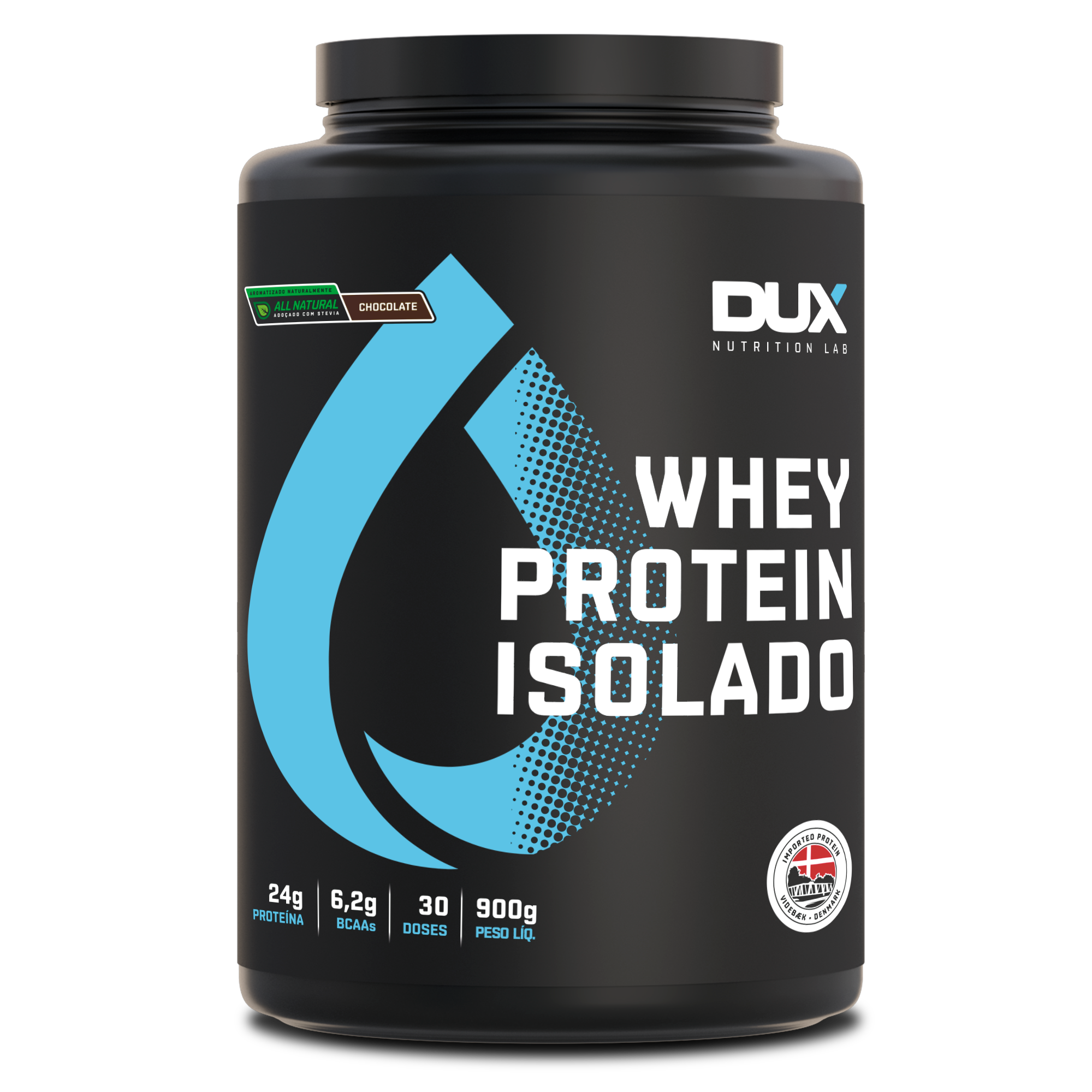 Whey Protein Isolado 900g All Natural - Dux Nutrition