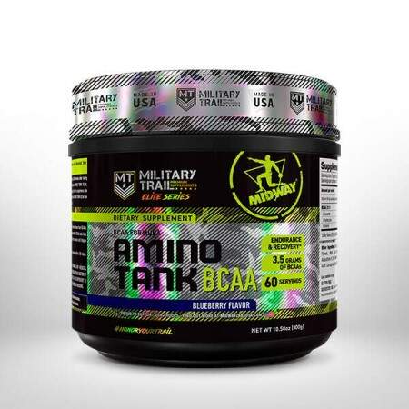 BCAA Amino Tank Military Trail 300g - Midway