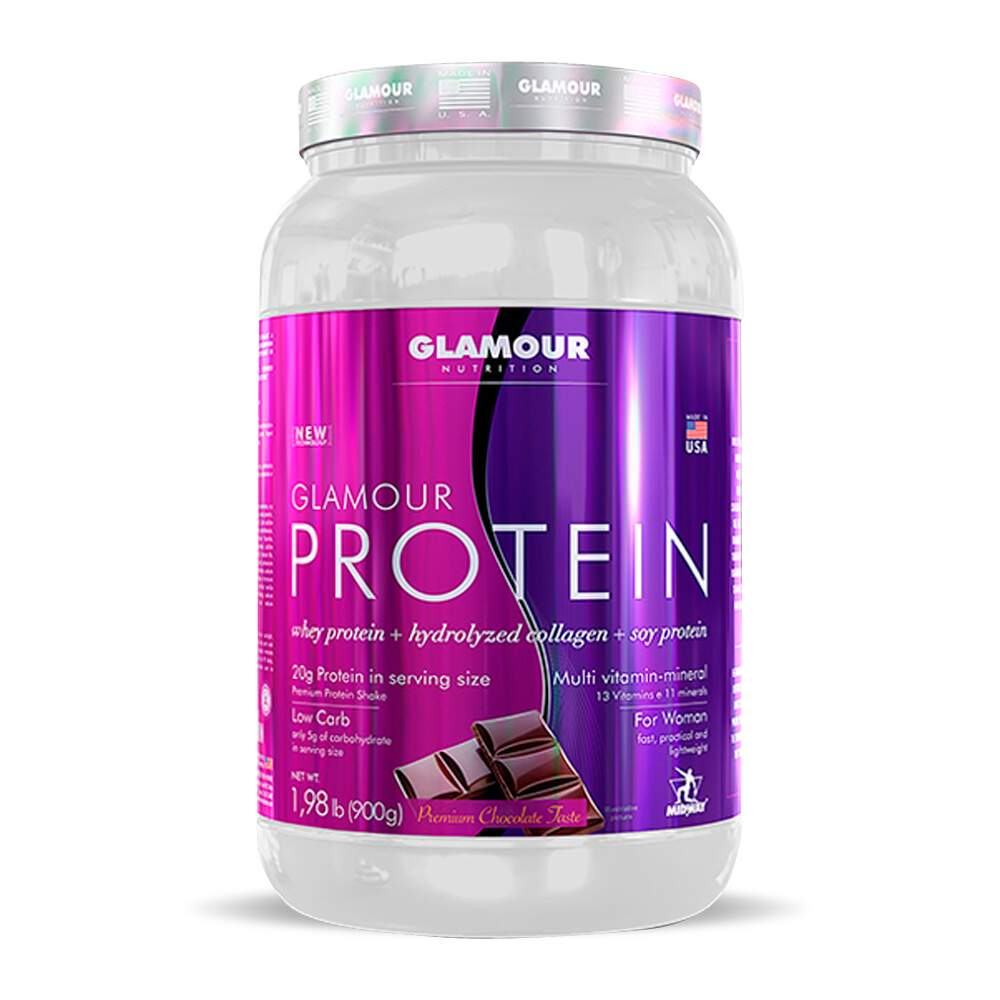 Glamour Protein 900g Chocolate - Midway