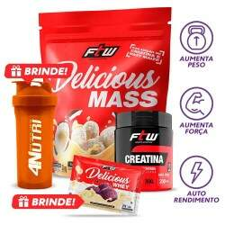 Kit Mass Delicious + Brindes