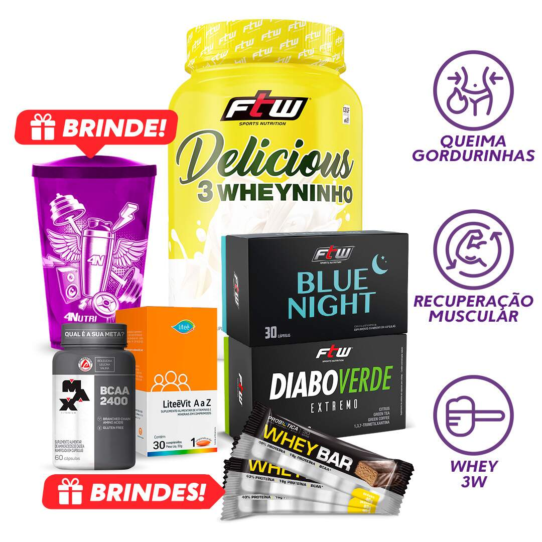 Kit Delicious Thermo + Brindes
