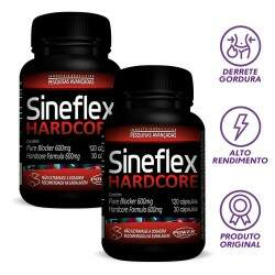 Kit 2x Emagrecedor Sineflex Hardcore (300 caps) - Power Supplements