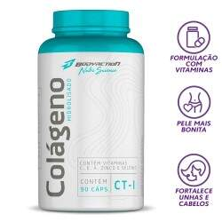 Colágeno Hidrolisado CT-I 90 caps - Body Action