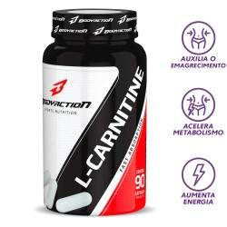 L-Carnitina 90 Caps - Body Action