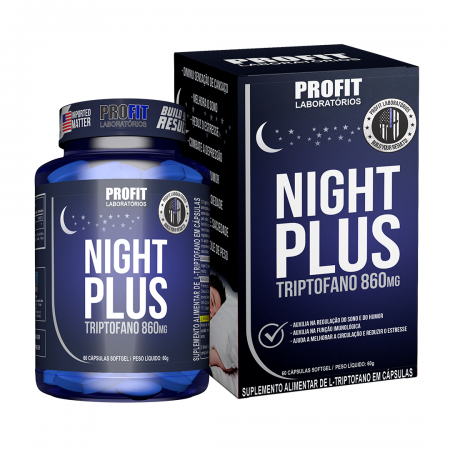Tritopfano Night Plus 860mg 60 Caps - ProFit