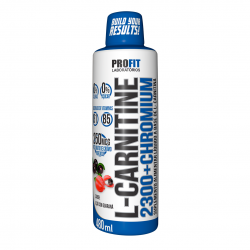 L-Carnitine 2300 + Chromium 480ml - ProFit