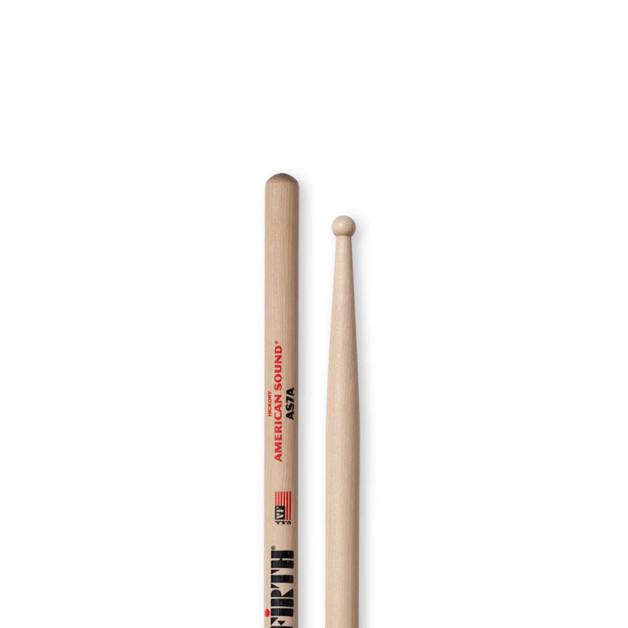 Baqueta American Sound 7a Ponta De Madeira As7a Vic Firth