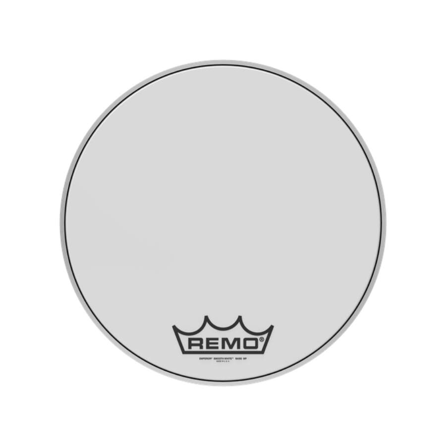 Pele P/ Bumbo Marcial 18 Pol Emperor Smooth White Bb-1218-mp Remo