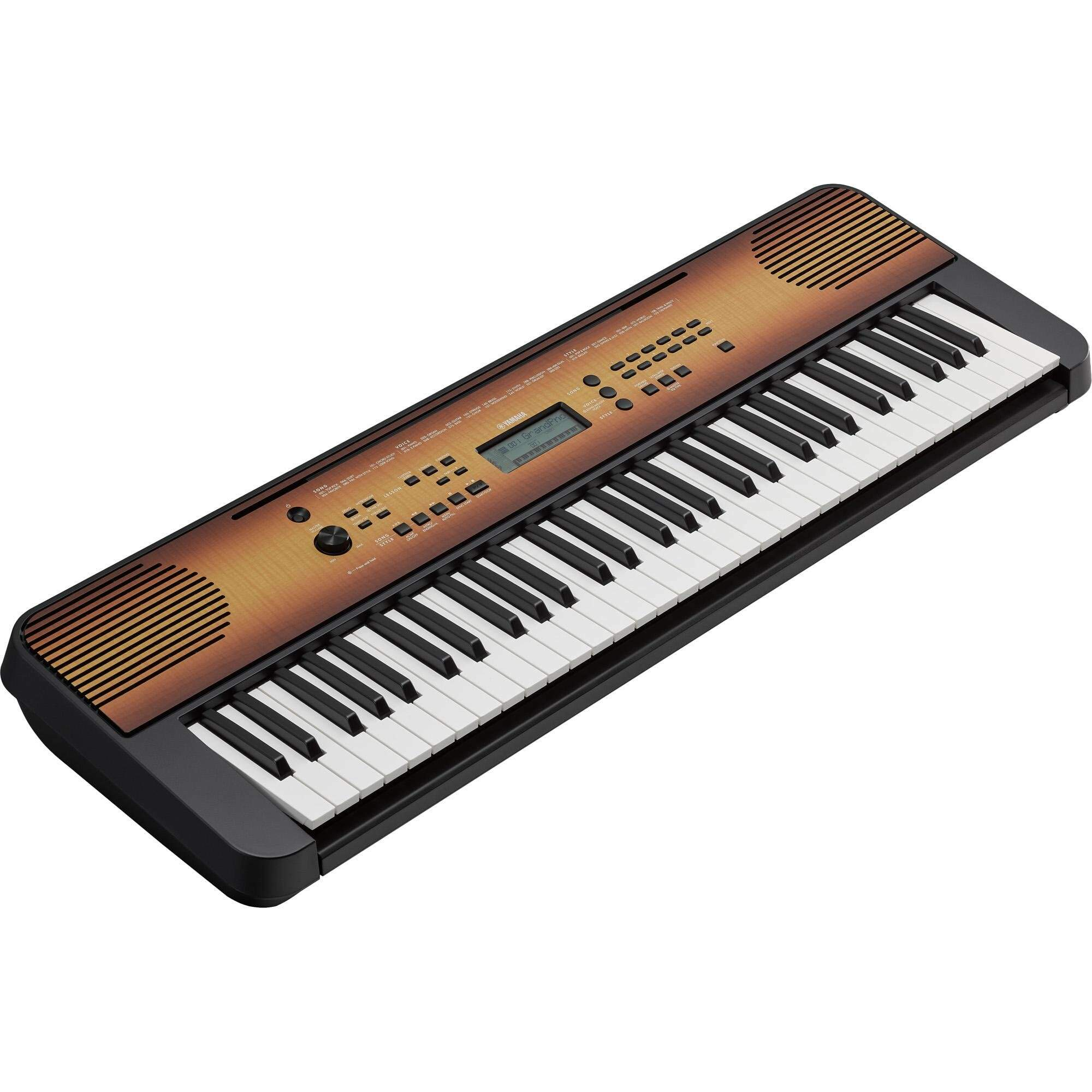 Teclado Arranjador PSR-E360 Maple YAMAHA