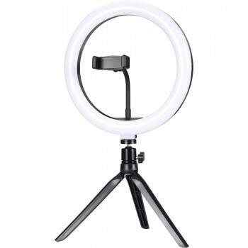 "Ring Light de Mesa LED 10"" ILUM-R10P15 EXBOM"