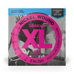 Encordoamento Para Guitarra 12-Cordas .010-.046 D'Addario XL Nickel Wound EXL150