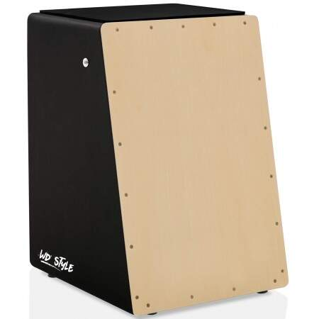 Cajón WD Style Personalizado Inclinado Black - Tampa Natural | BART