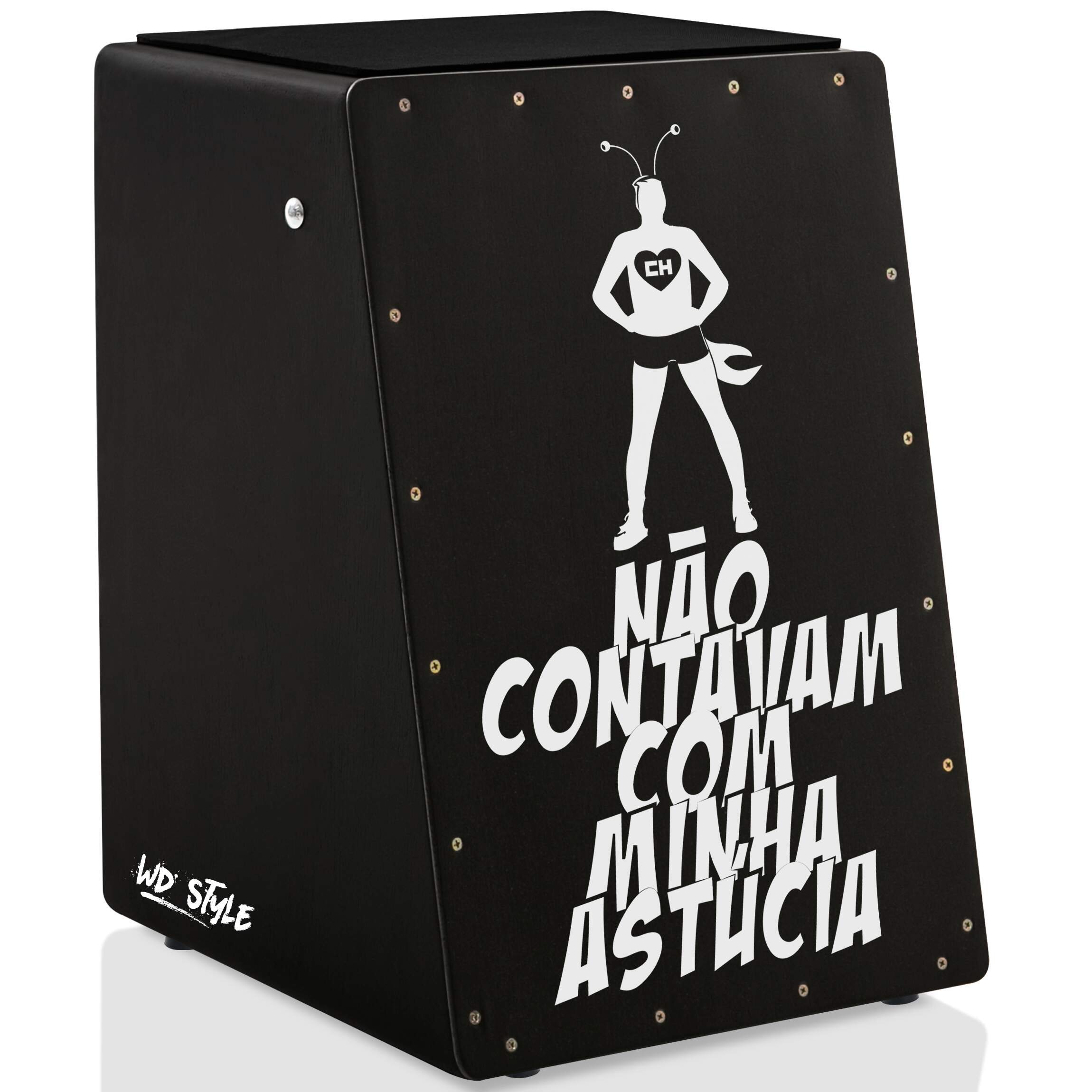Cajón WD Style Personalizado Inclinado Black - Tampa Natural | STAR WARS