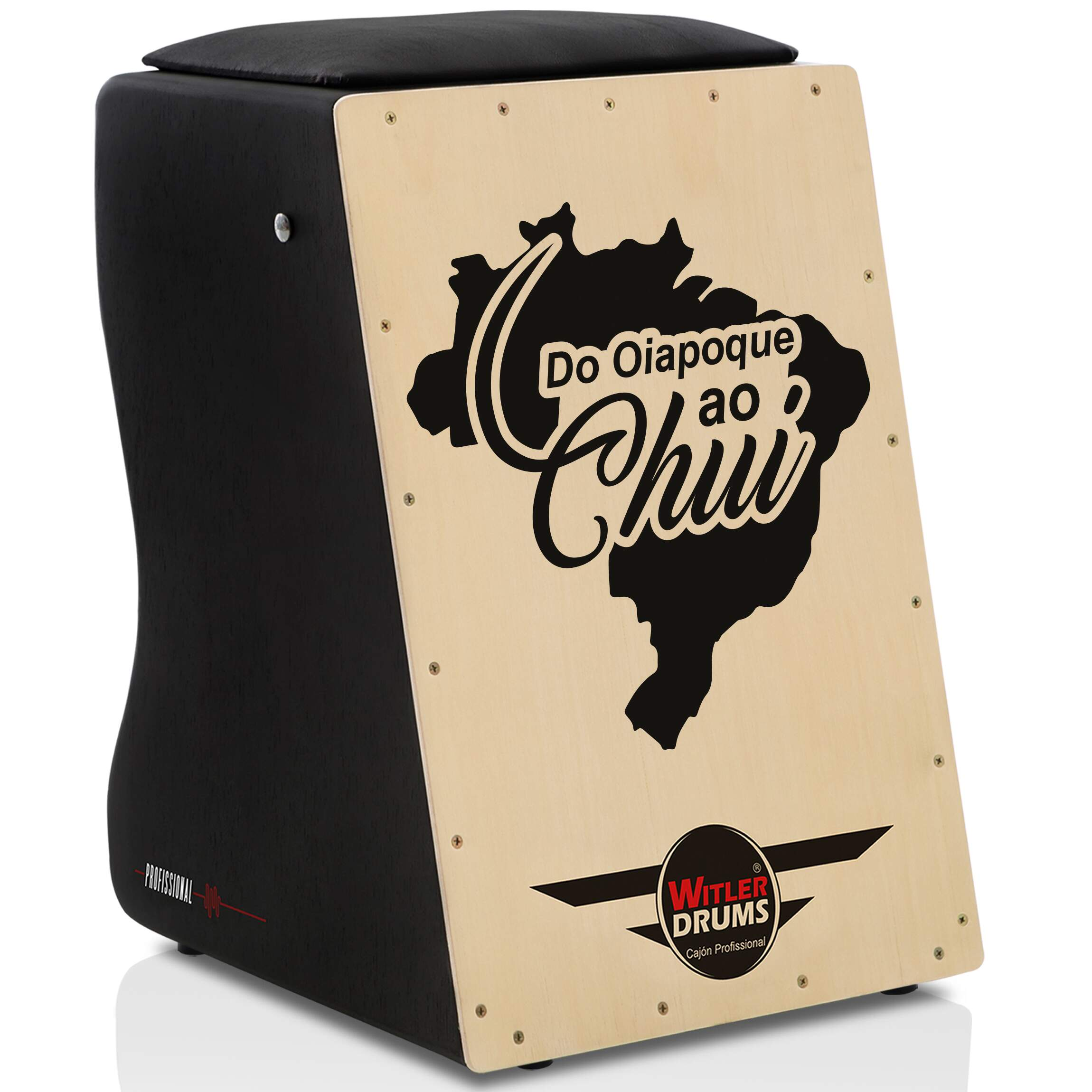 Cajón Personalizado Inclinado Black | Tampa Natural | RIO LOVE CIRCULO