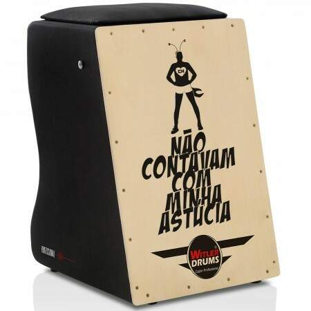 Cajón Personalizado Inclinado Black | Tampa Natural | STAR WARS