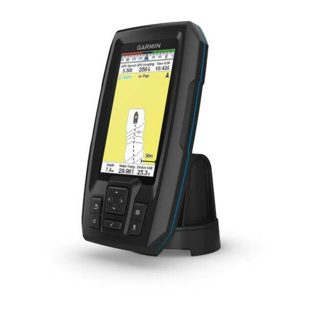 GPS e Sonar Fishfinder Garmin STRIKER 4cv Plus (c/ Transducer CV20-TM)