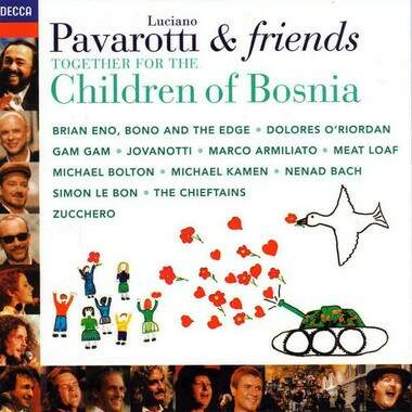 Cd Pavarotti & Friends - Together For The Children Of Bosnia ;STA4171