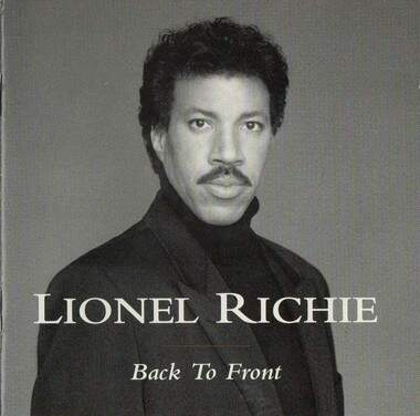 CD LIONEL RICHIE / BACK TO FRONT - 16 SUCESSOS ;STA4173