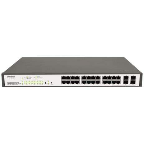 Switch Gerenciavel 24 Portas SG 2404 Poe Intelbras