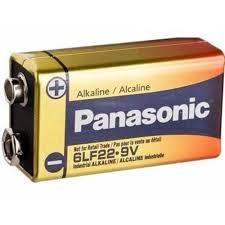 Bateria 9v Alcalina Power Panasonic