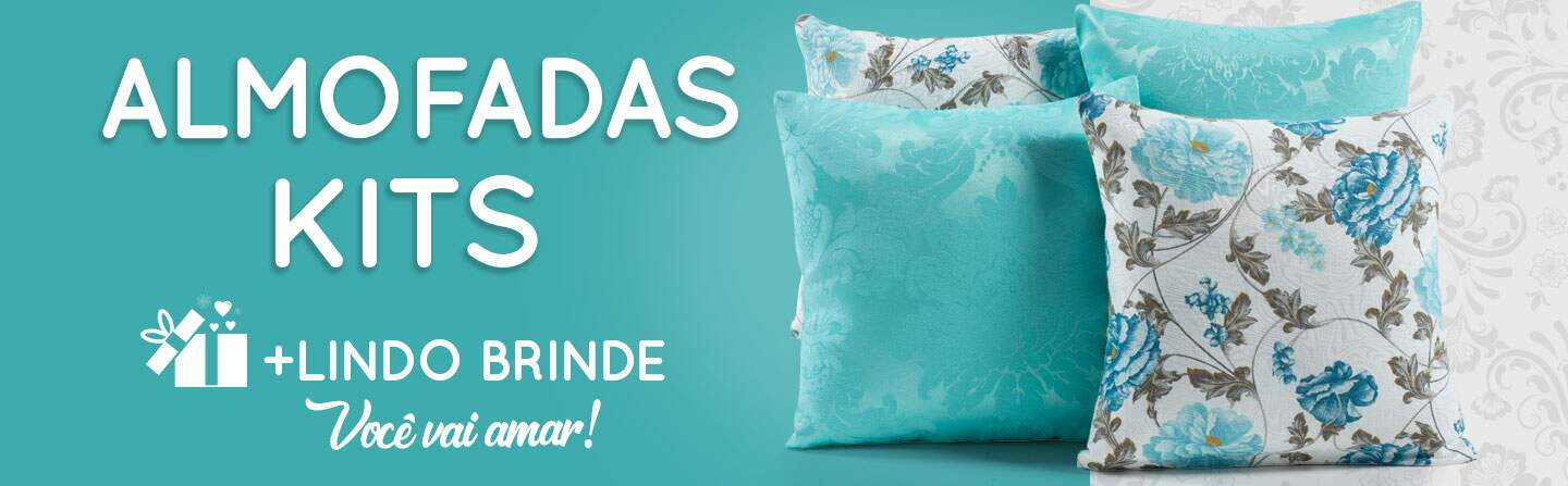Almofadas Decorativas Kits - Slider