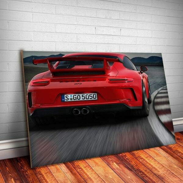 Placa Decorativa Porsche 1