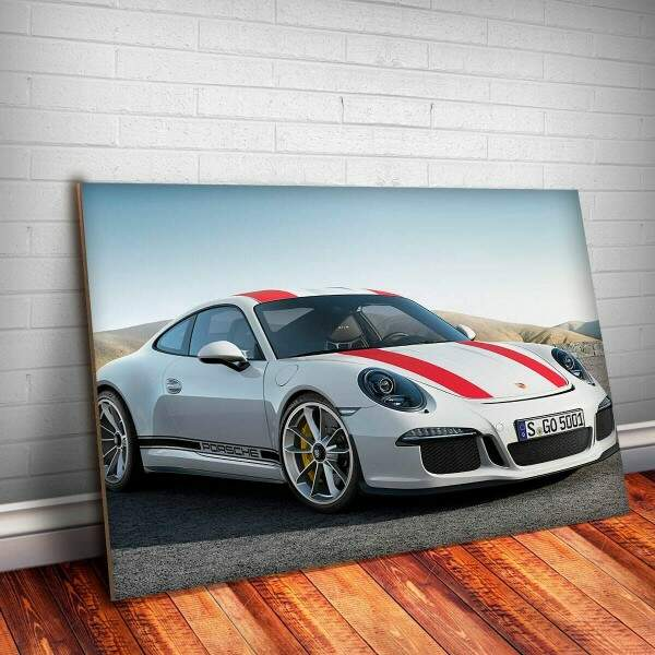 Placa Decorativa Porsche 12