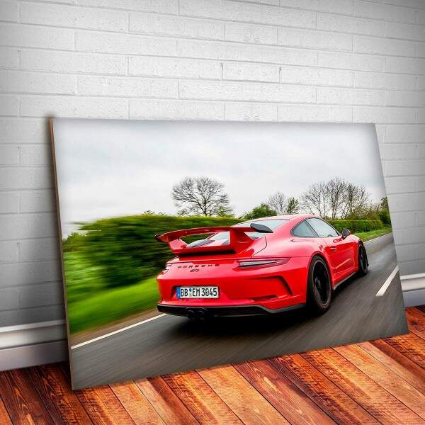 Placa Decorativa Porsche 15