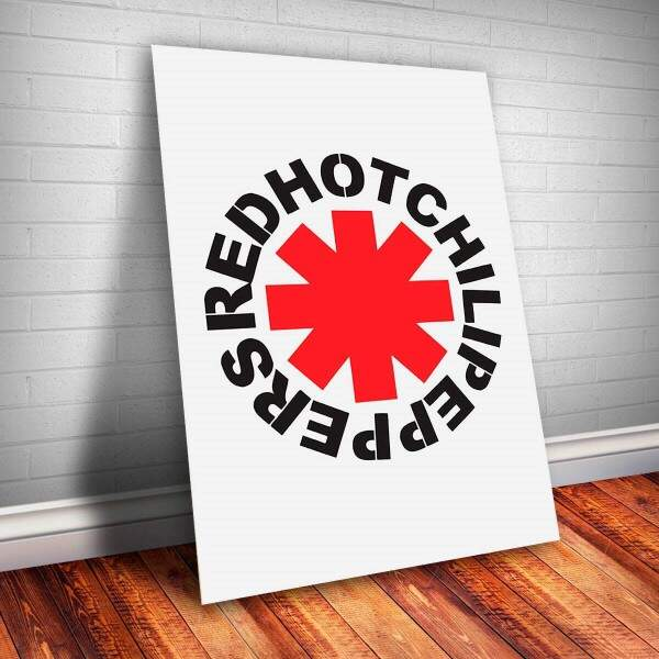 Placa Decorativa Red Hot Chilli Peppers 11