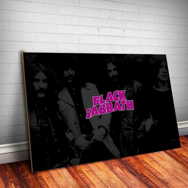 Placa Decorativa Black Sabbath 2
