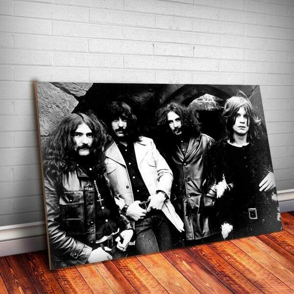 Placa Decorativa Black Sabbath 5