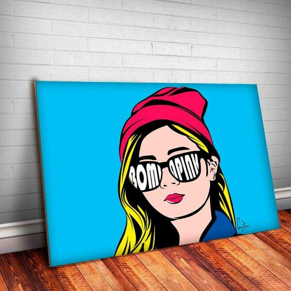 Placa Decorativa Pop Art 6