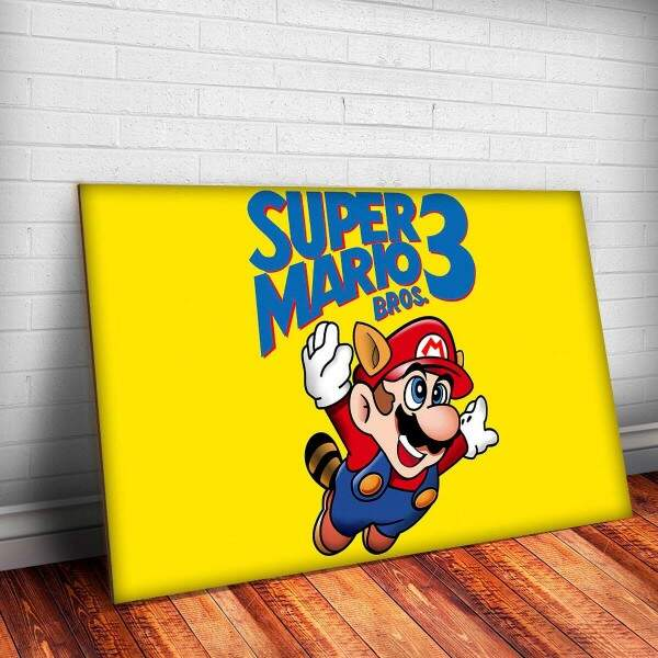 Placa Decorativa Super Mario Bros 7